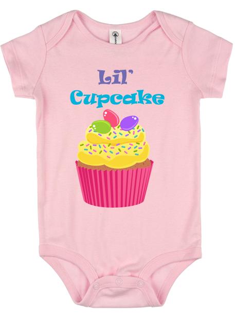 Lil Cupcake Design Onesie Wicked Xtreme Graphics